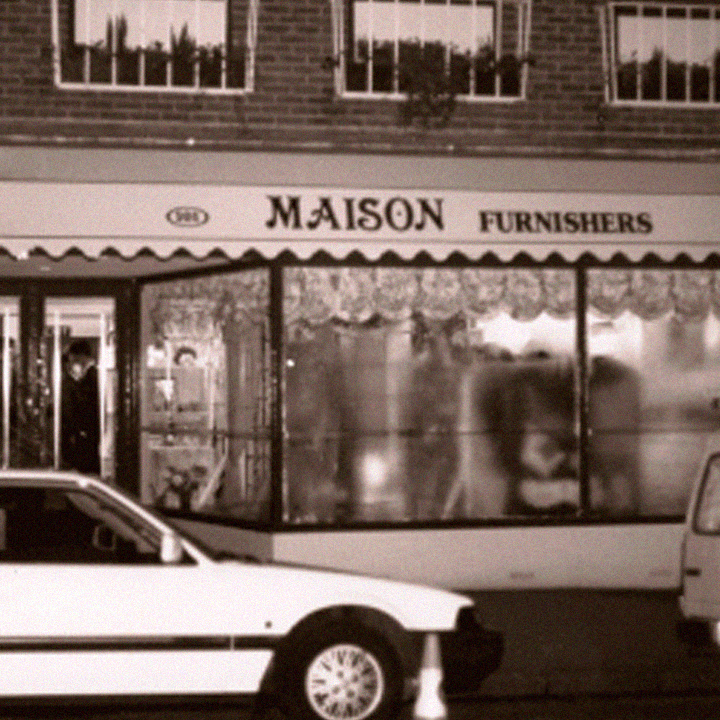 Exterior of Maison Furnishers (now Dean & Co) new store in 1980