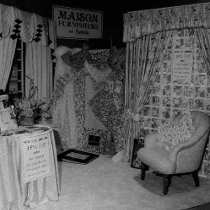 Interior of Maison Furnishers (now Dean & Co) new store in 1980