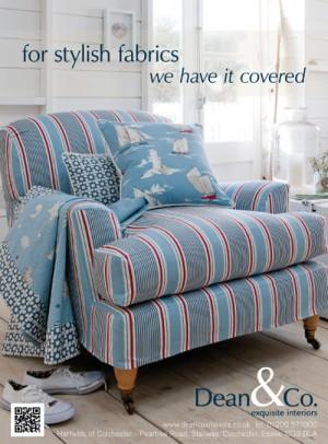 Clarke & Clarke Maritime Fabrics Promotion August 2012