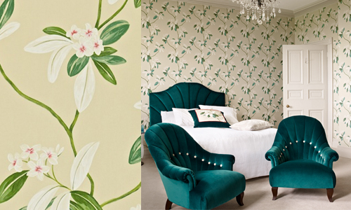 1000 images about floral patterns on pinterest for Opus wallpaper range