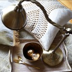Brasses, textures and trimmings from Prestigious Textiles Cosmopolitan collection