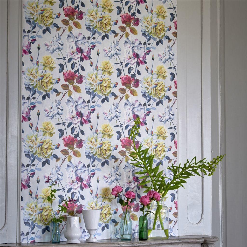 » Designers Guild Jardin Des Plantes Wallpaper Couture