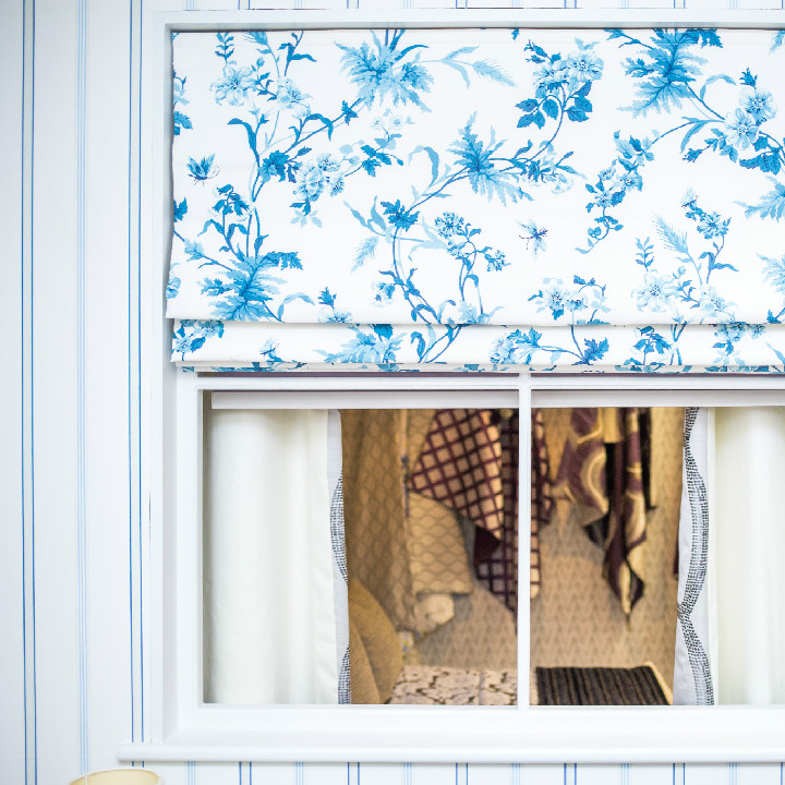 Dean + Co Showroom Roman Blind