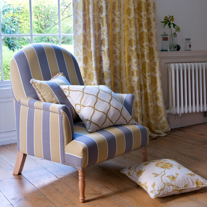 Clarke & Clarke Ribble Valley Fabric Collection available from Dean & Co